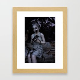 Alien Zombie Framed Art Print