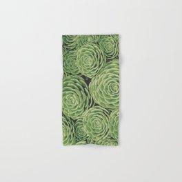 Succulents | Garden Plants Hand & Bath Towel
