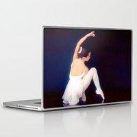 ballerina Laptop & iPad Skins featuring Ballerina by Just Art