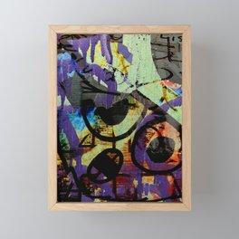 Oh No! Framed Mini Art Print