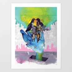 Never for Money Always for Love Art Print