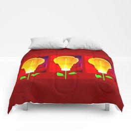 Spring Bulbs Comforters