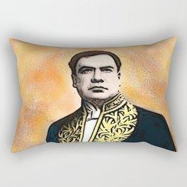 Rubén Darío (1867-1916) Rectangular Pillow