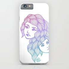 Two Heads are Better Than One iPhone 6s Slim Case