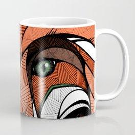Fox // Colored Coffee Mug