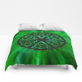Celtic Knot Star Flower Comforters