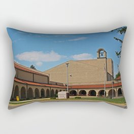 Lourdes University-  Franciscan Center in the Spring II Rectangular Pillow
