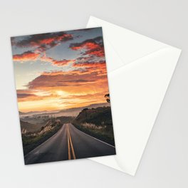 Until We Meet the Sky Stationery Cards