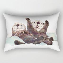 Otter Time Rectangular Pillow
