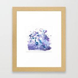 Mini Impressions: CARNATION Framed Art Print