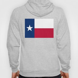 Texas State Flag, Authentic Version Hoody