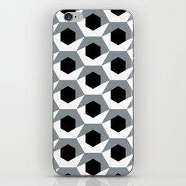 Hex shadow pattern  iPhone Skin