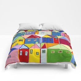 Little Houses Comforters