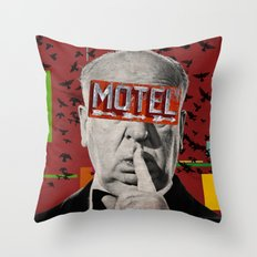 Public Figures Collection -- Hitchcock Throw Pillow