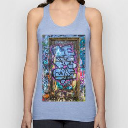 Painted Doorway Unisex Tank Top