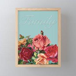 Let Families Bloom Framed Mini Art Print