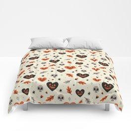 I Heart Fall Pattern Comforters