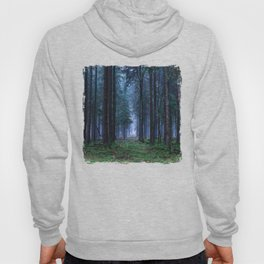 Green Magic Forest - Landscape Nature Photography Hoody