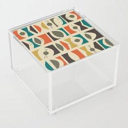 Tromen - Orange Acrylic Box