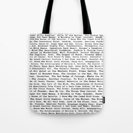 Banned Literature Internationally Print Tote Bag