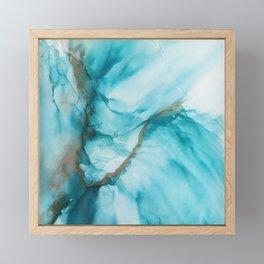 Fluidity V Framed Mini Art Print