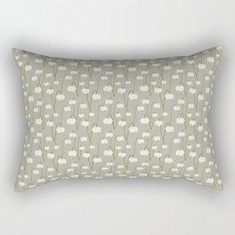 Pitcher Plant Taupe Rectangular Pillow