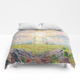 "Edvard Munch ""The Sun"", 1910–11 Comforters"