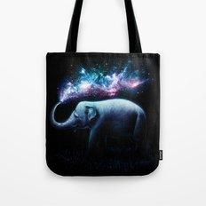 Elephant Splash Tote Bag