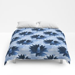 Deep in the dark blue sea... Comforters