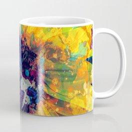 Sunflower Batik Coffee Mug