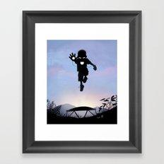 Iron Kid Framed Art Print