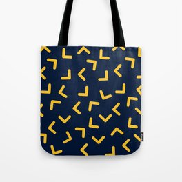 Boomerangs / V pattern Tote Bag