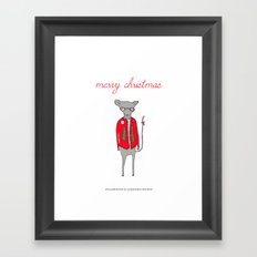 William Mouse Framed Art Print