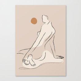 Nude 2 Canvas Print