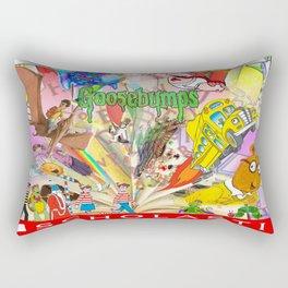 Reading Rainbow Rectangular Pillow