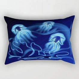 Tanz der Medusen - Dance of the jellyfish Rectangular Pillow