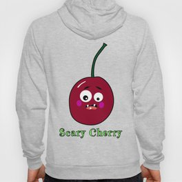 Halloween Scary Cherry Fruit Costume Vegan Vegetarian Hoody