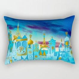 It's a Small World Rectangular Pillow