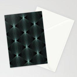 Geometric Orb Pattern XVI Stationery Cards