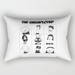 The Unemployed Rectangular Pillow