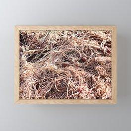 Fishing Net Framed Mini Art Print