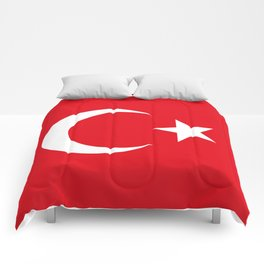 National flag of Turkey, Authentic color & scale Comforters