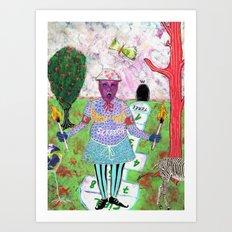 Secret Place V Art Print