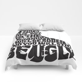 Best Churchill Quote Ever Comforters