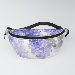 Purple Wisteria Flowers Fanny Pack