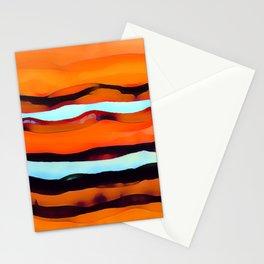 Desert Streams Stationery Cards