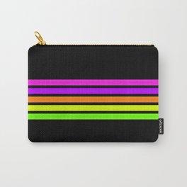 Rainbow Stripes V Carry-All Pouch