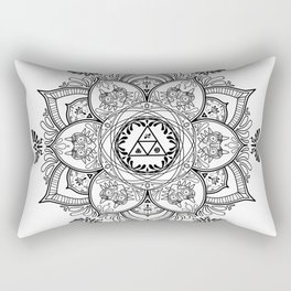 Zelda Mandala Rectangular Pillow