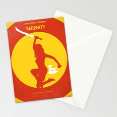No722 My Serenity minimal movie poster Stationery Cards