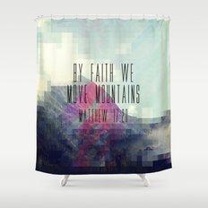 Matthew 17:20 Shower Curtain